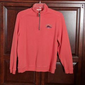 Tommy Bahama Relax Quarter Zip Pullover Medium